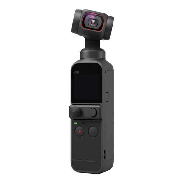 """DJI Pocket 2 je naslednik DJI Osmo Pocket-a. Sada sa 1/1.7"""" CMOS senzorom sa 64 megapiksela, do 8X digitani zoom, ugao snimanja od 93°."""